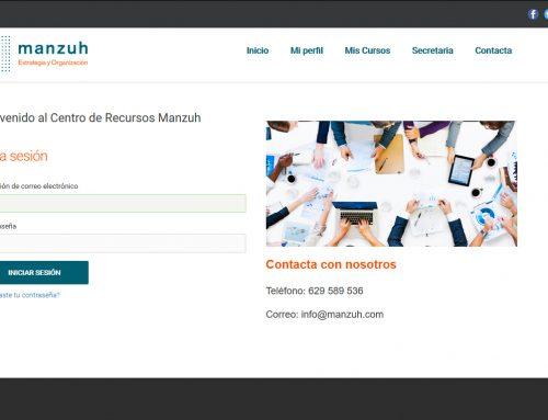 Manzuh.com platorma de formación online