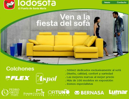 Portal web todosofa – Diseño Web