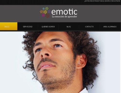 Emotic formación – Diseño Web