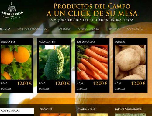 Tienda online agrícola – Comercio electrónico